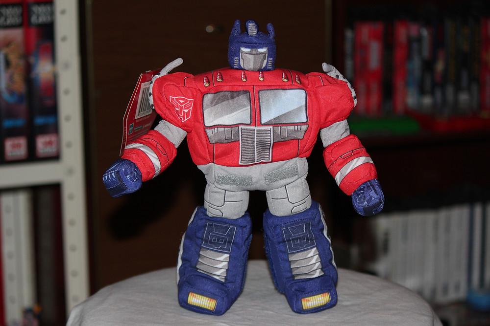 G-1 Optimus Prime Softimus Prime plush toy.
