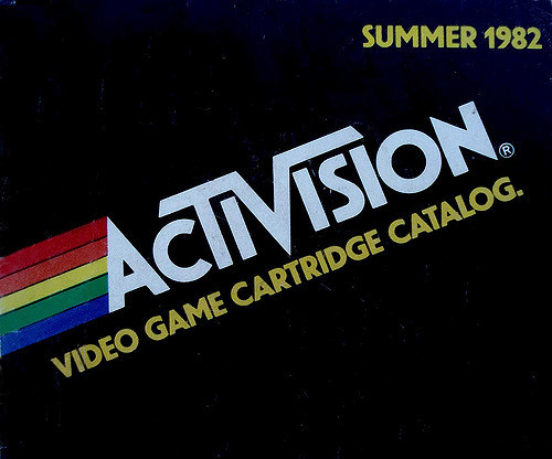 Activision Video Game Cartridge Catalog, Sumer 1982.
