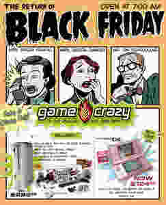 Game Crazy Black Friday ad.