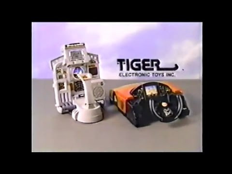 Tiger Outrun and After Burner LCD tabletop videogames.