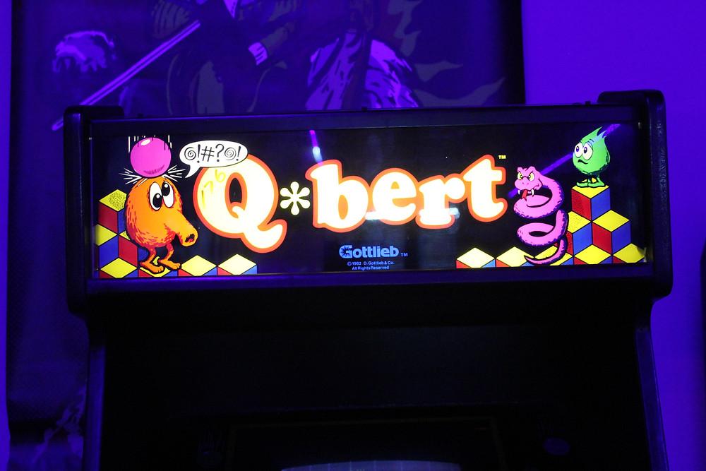 Gottleib Q-bert arcade machine