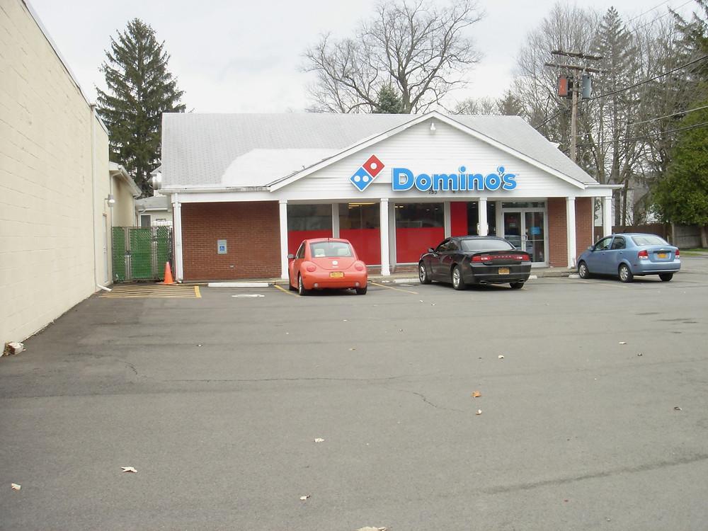 Domino's pizza store.