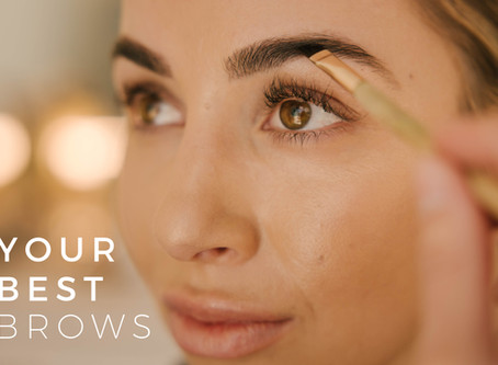 5 Steps to Better Brows: How to get perfect, face-framing brows.