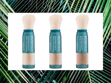 As seen on New Beauty | The Better-Than-Ever Sunscreen That's as Easy to Reapply as Powder