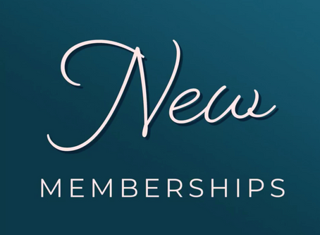 New Memberships