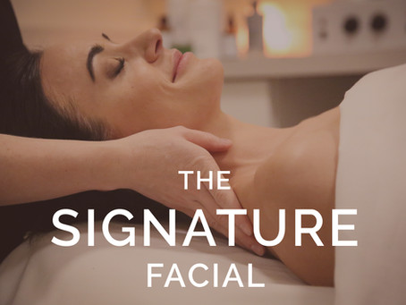 Introducing the Skin Chic Signature Facial