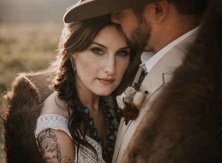 As seen in Western Montana Wedding Magazine