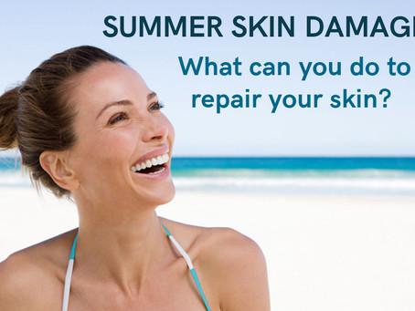 Repairing Summer Skin Damage