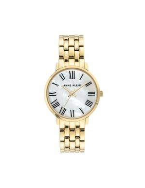 Metal Bracelet Mother-Of-Pearl Dial Watch