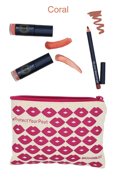 Protected Pout Kit - Coral