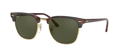 RAY-BAN CLUBMASTER CLASSIC Tortoise Green Classic