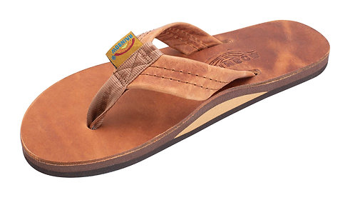 """Luxury Leather - Single Layer Arch  Support with a 1"""" Strap"""