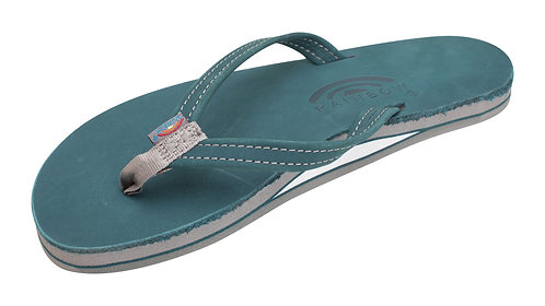 """Single Layer Premier Leather with Arch Support and a 1/2"""" Narrow Strap"""