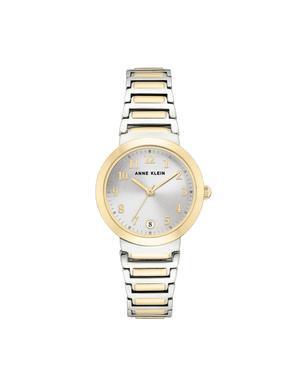 Easy-to-Read Metal Bracelet Watch