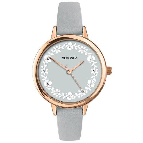 Sekonda Editions Women's Grey Strap Watch