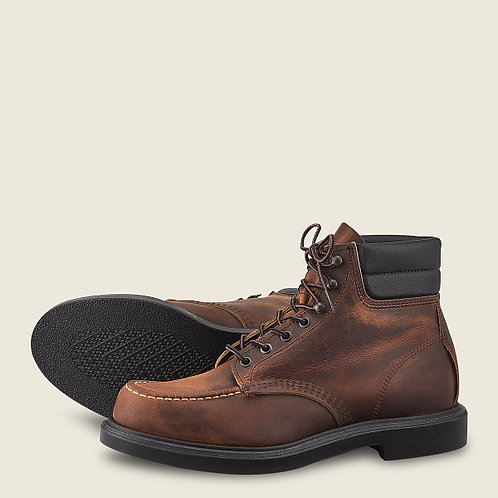 CLASSIC SUPERSOLE MEN'S 6-INCH BOOT IN COPPER ROUGH & TOUGH LEATHER