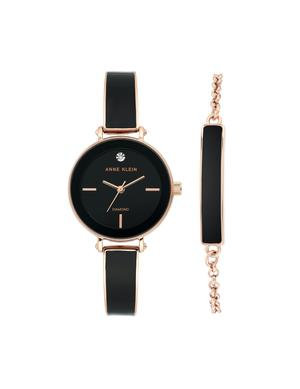 Diamond Bangle Watch With Bracelet Set