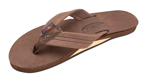 """Single Layer Arch Support Premier Leather with 1"""" Strap"""