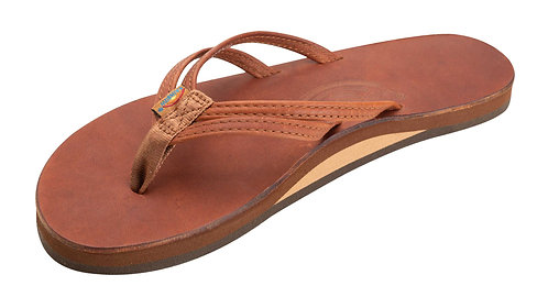 The Sandpiper - Luxury Leather Single Layer Arch Support with a Double Narrow 1/