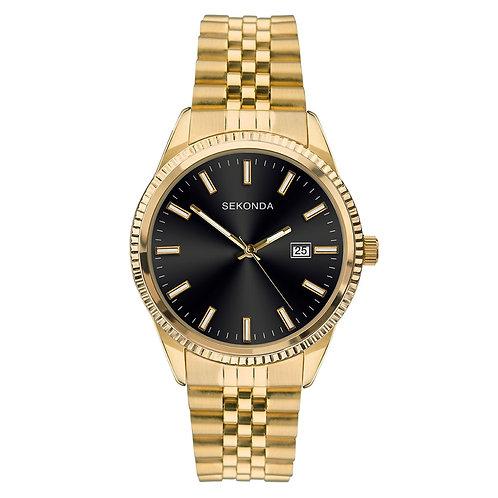 Sekonda Men's Classic Gold Plated Bracelet Watch