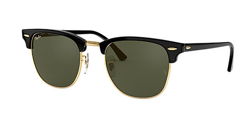 RAY-BAN CLUBMASTER CLASSIC Black Green Classic