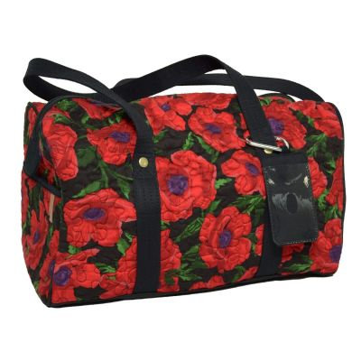 Duffle (Large), Red Poppy