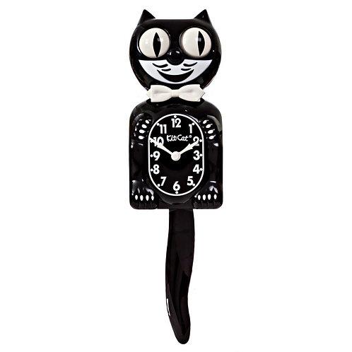 Classic Black Kit-Cat Klock (15.5″ high)