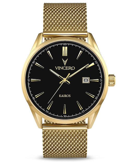THE KAIROS MESH - BLACK/GOLD
