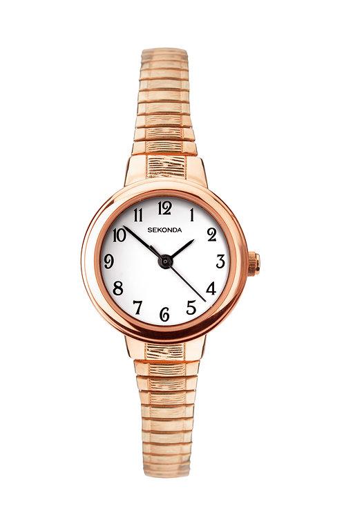 Sekonda Women's Stainless Steel Expander Bracelet Watch