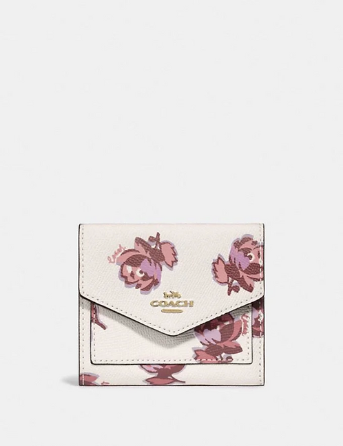 Coach Small Wallet With Floral Print