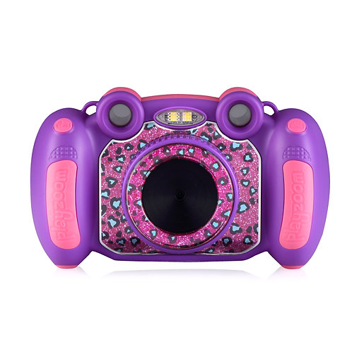 Playzoom Snapcam Purple Leopard