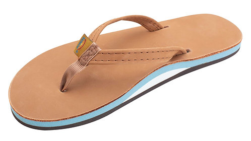 """Single Layer Classic Leather with Arch Support and a 1/2"""" Narrow Strap"""