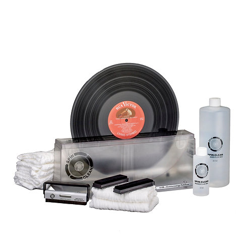 """Limited-Edition, 45th Anniversary Spin-Clean® Record Washer MKII """"Clear"""" Deluxe"""