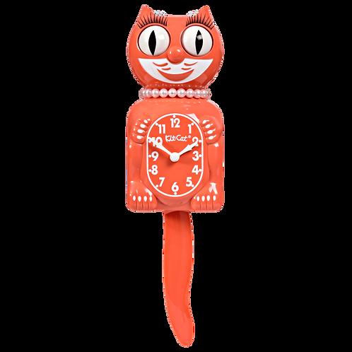 Living Coral Lady Kit-Cat Klock (15.5″ high)