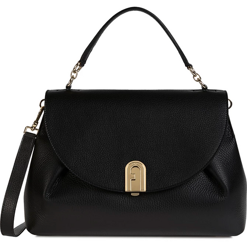 FURLA SLEEK Top Handle M Nero