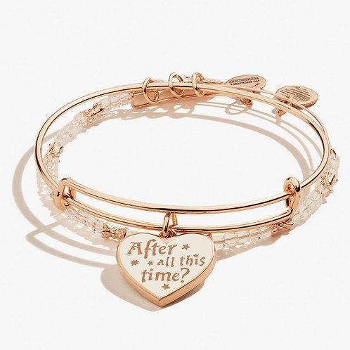 HARRY POTTER™ Always Charm Bangle Set of 2 Shiny Rose Gold