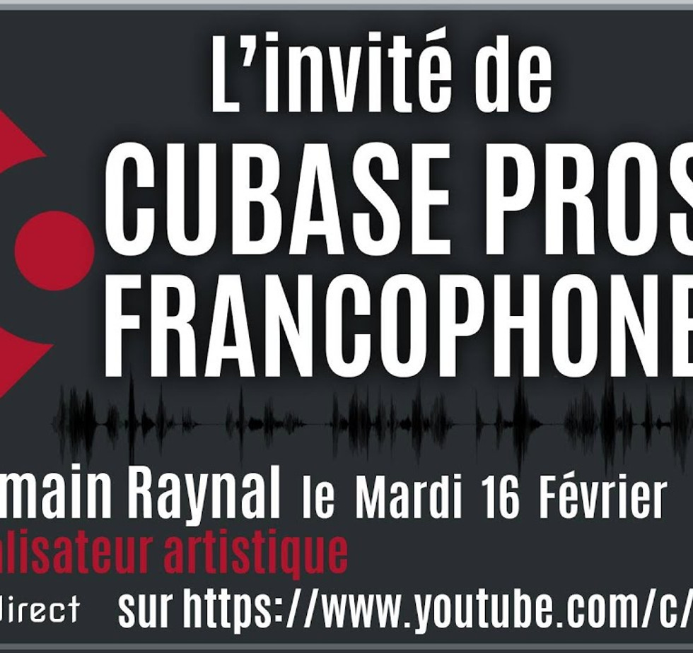 Romain Raynal est invité pour parler de ses productions musicale