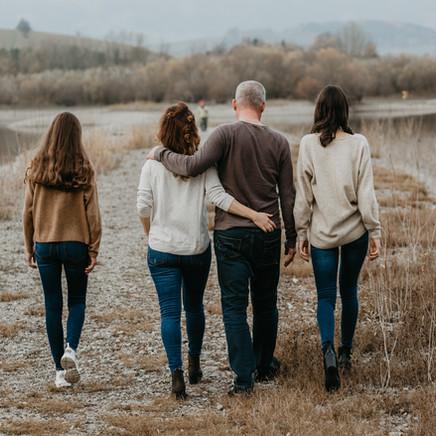 Exteriérové rodinné fotenie