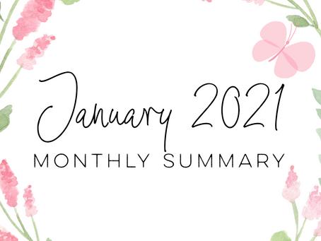January 2021 - Monthly Summary