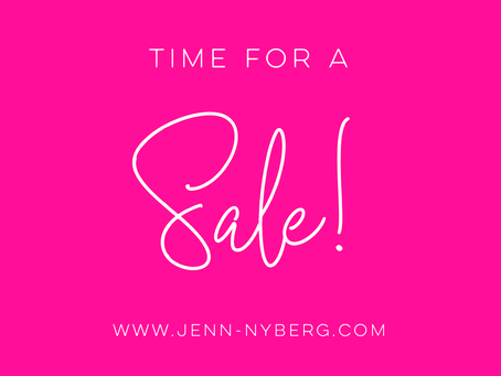 Time for a SALE!