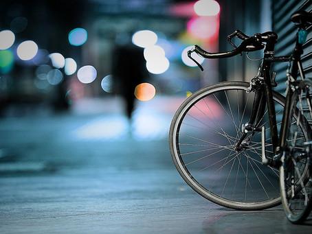 На поезде с велосипедом