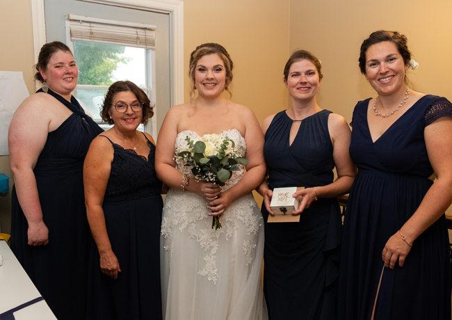 Charlotte et ses dames honneur,Mariage @adriencote