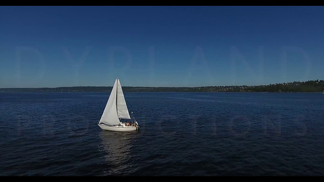 Boats in the Puget Sound | 4K