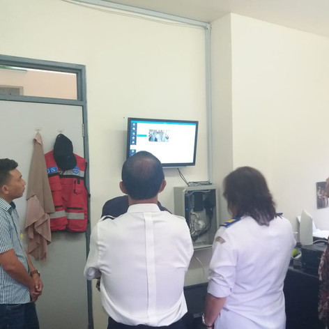 CCTV installation in Indonesia