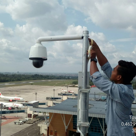 CCTV installed in Indonesia