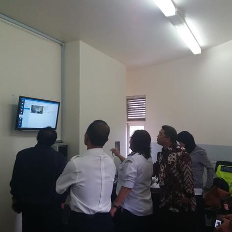 CCTV installation in Indonesia