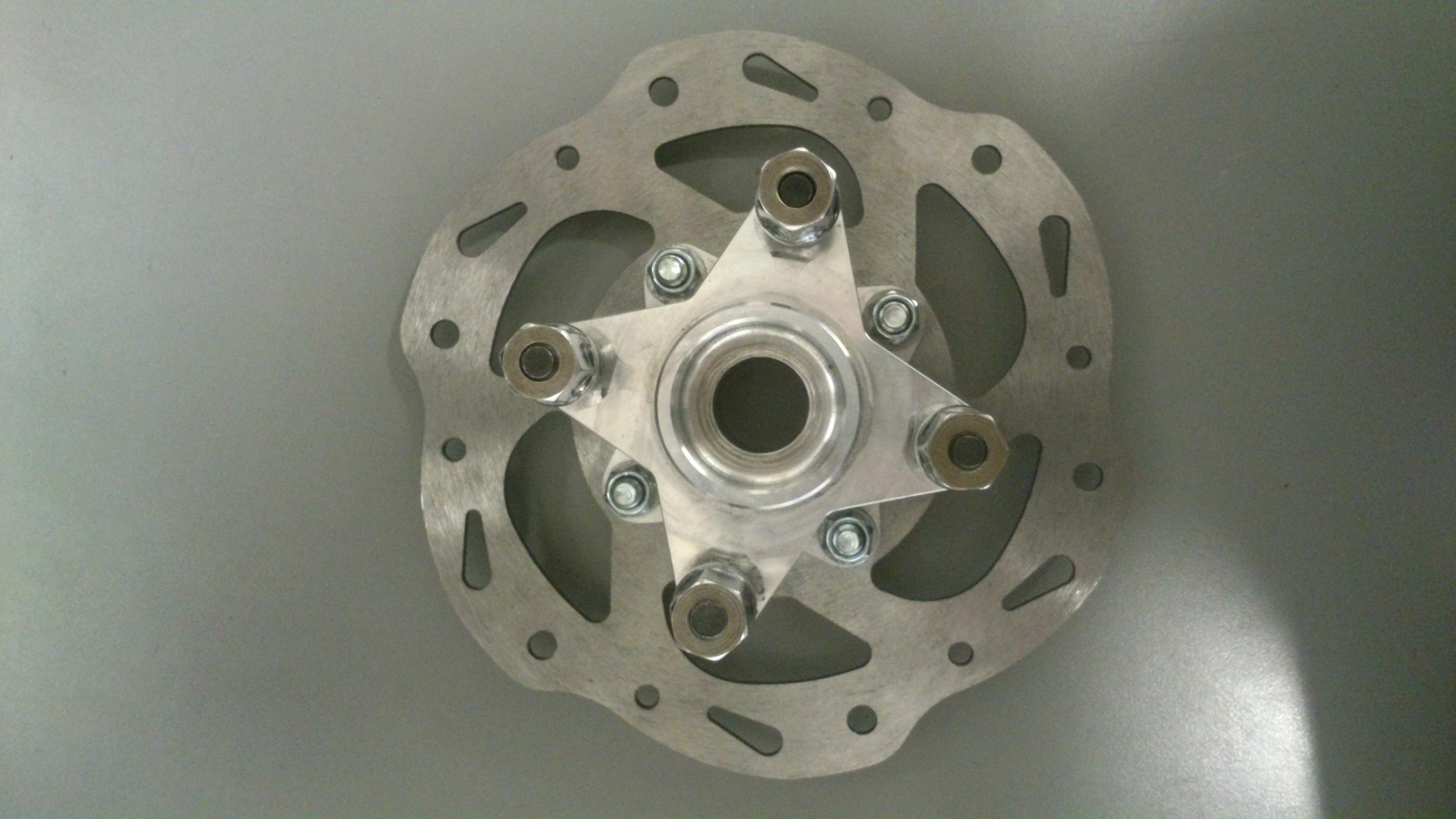 Brake Discs with Wheel Hubs