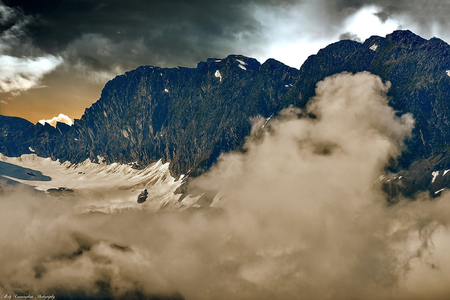 Storm on the Mountain