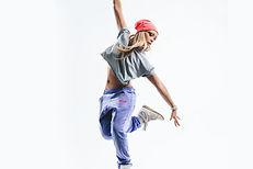 보라색 바지 춤