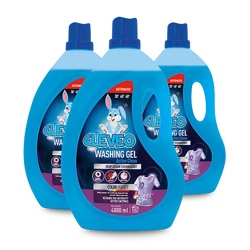 CLEVEO Laundry Gel Color Perfect 4L
